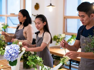 Flower Arranging Course for Beginners