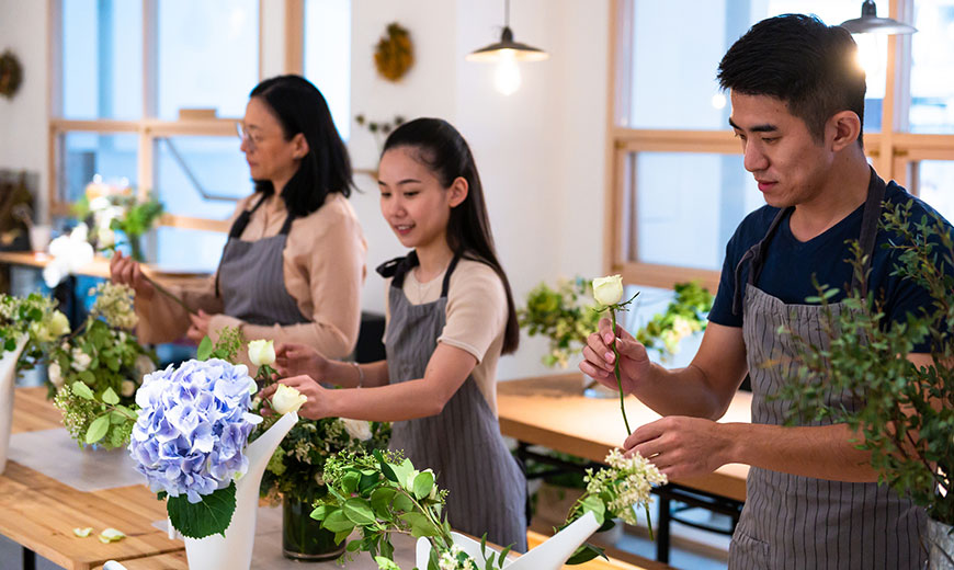 Flower Arranging Course