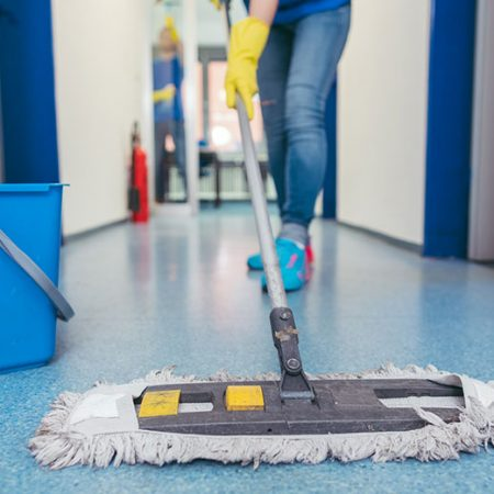 Perform Basic Cleaning Of Hard Floor Surfaces