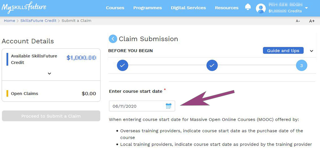 Udemy Course Purchase Date